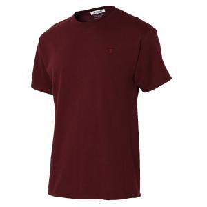 【即納】エンコーデッド T. x ENCODED メンズ Tシャツ トップス LAST THEOREM TEE maroon|fermart