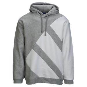 【即納】アディダス adidas Originals メンズ パーカー トップス EQT Hoodie Medium Grey Heather/White|fermart