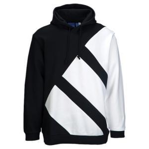 【即納】アディダス メンズ パーカー トップス EQT Hoodie Black/White|fermart