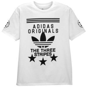 【即納】アディダス adidas Originals メンズ Tシャツ トップス Graphic T-Shirt White/Black|fermart
