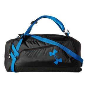 【即納】アンダーアーマー Under Armour メンズ バックパック・リュック バッグ Contain Duo Backpack Black/Stealth Gray/Electric Blue|fermart