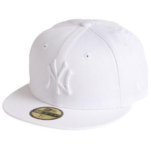 【即納】ニューエラ New Era メンズ キャップ 帽子 WHIONWHI 59fifty NEYYAN WHITE|fermart