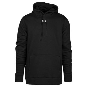 【即納】アンダーアーマー Under Armour メンズ パーカー トップス Team Hustle Fleece Hoodie Black/White|fermart
