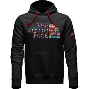 【即納】ザ ノースフェイス The North Face メンズ パーカー トップス International Collection Logo Pullover Hoodie TNF Black TNF Black|fermart