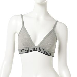 【即納】カルバンクライン Calvin Klein Underwear レディース ブラジャーのみ インナー・下着 ID Triangle Bra Grey Heather fermart