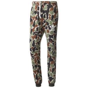 【即納】アディダス adidas Originals メンズ スウェット・ジャージ ボトムス・パンツ Camo Sweatpants Multi Camo|fermart