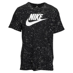 【即納】ナイキ NIKE メンズ Tシャツ トップス Nike GX AOP T-Shirt Black/White|fermart