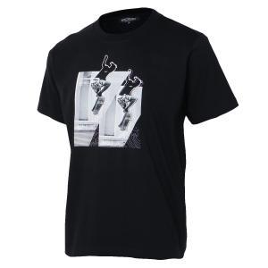 【即納】エンコーデッド T. x ENCODED メンズ Tシャツ トップス T.skater TEE black|fermart