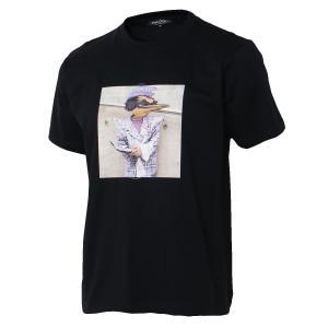 【即納】エンコーデッド T. x ENCODED メンズ Tシャツ トップス T.chirdren TEE black|fermart