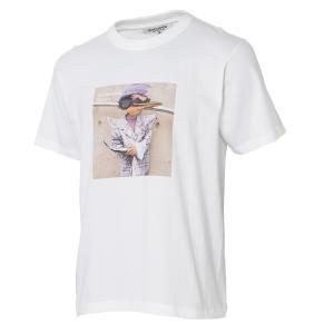 【即納】エンコーデッド T. x ENCODED メンズ Tシャツ トップス T.chirdren TEE white|fermart