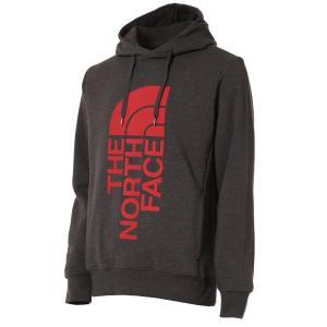 【即納】ザ ノースフェイス The North Face メンズ パーカー トップス Trivert Pullover Hoodie Tnf Dark Grey Heather/Tnf Red|fermart