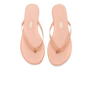 【即納】ティキーズ TKEES レディース サンダル・ミュール シューズ・靴 Foundations Gloss Sandal Nude Beach|fermart