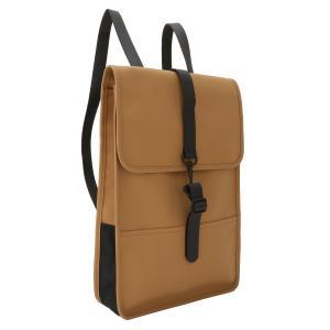 【即納】レインズ RAINS ユニセックス バックパック・リュック バッグ Backpack Mini Khaki 防水 デイパック ミニ|fermart