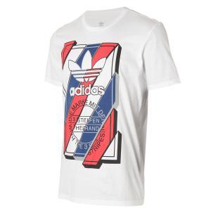 【即納】アディダス adidas Originals メンズ Tシャツ トップス Graphic T-Shirt WHITE|fermart