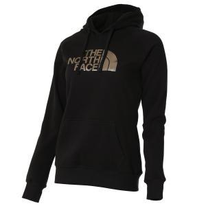【即納】ザ ノースフェイス The North face レディース パーカー トップス hoodie BLACK/GOLD|fermart