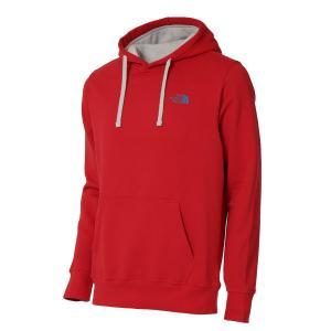 【即納】ザ ノースフェイス The North face メンズ パーカー トップス hoodie RED|fermart