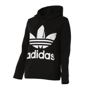 【即納】アディダス adidas Originals レディース パーカー トップス trefoil hoodie BLACK|fermart