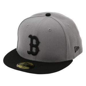 【即納】ニューエラ New Era メンズ キャップ 帽子 MLB BASIC 5950 BOSRED STGBLK Hat STGBLK fermart