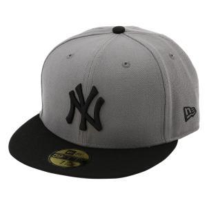 【即納】ニューエラ New Era メンズ キャップ 帽子 MLB BASIC 5950 NEYYAN STGBLK Hat STGBLK fermart