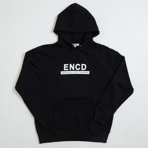 【即納】エンコーデッド ENCODED メンズ パーカー トップス フーディー フード ENCD BASIC PO HOODIE black fermart