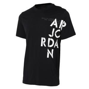 【即納】ナイキ ジョーダン NIKE JORDAN メンズ Tシャツ トップス M JSW TEE AJ STENCIL 010 BLACK|fermart