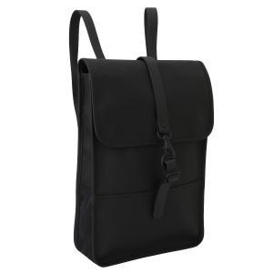 【即納】レインズ RAINS ユニセックス バックパック・リュック バッグ Backpack Mini Black 1280|fermart