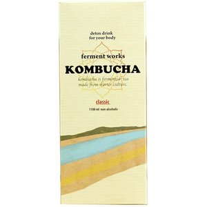 ferment works KOMBUCHA パウチタイプ-ファーメントワークスコンブチャ パウチ- 1100ml|fermentworks