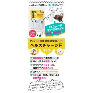 フェレット サプリメント ヘルスチャージF(3g×30本入り)(フェレット用健康補助食品バイト)(国産)(無添加)バイト 栄養(ゆうパケットOK)|ferretwd|04