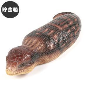 ペットバンク ツチノコ 雑貨 貯金箱 オーナーグッズ 置き物 オブジェ インテリア ガーデン かわいい リアル つちのこ 爬虫類 未確認動物 UMA|ferretwd