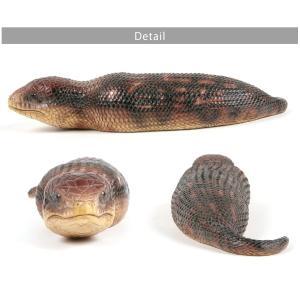 ペットバンク ツチノコ 雑貨 貯金箱 オーナーグッズ 置き物 オブジェ インテリア ガーデン かわいい リアル つちのこ 爬虫類 未確認動物 UMA ferretwd 05