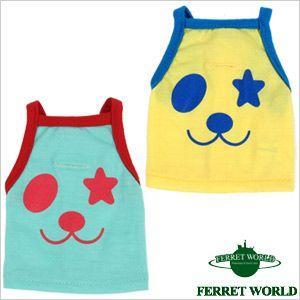 (お取寄せ品)ferret プチ ロック★パンダ(洋服) (春夏用) フェレット 服 ウェア タンクトップ|ferretwd