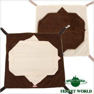 フェレット ハンモック ふんわりもぐりっこハンモック(F1)(秋用) (冬用)   寝袋 フリース ferretwd