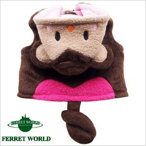 (お取寄せ品)ferretプチ おさるさんパーカー フェレット 服 洋服 ウェア パーカー|ferretwd