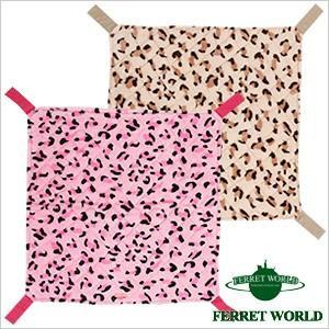 (お取寄せ品)レオパードニャンモック フェレット 猫 秋用 冬用 春用 大きめ ネコ ハンモック 多頭飼い ferretwd