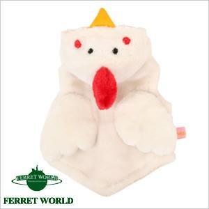 (お取寄せ品)ferret プチ・にわとりさんパーカー(秋用)(冬用) フェレット 服 洋服 ウェア干支 酉 年賀状|ferretwd