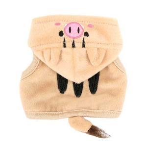 フェレット 服 (お取寄せ品)ferretランランハーネスウェア うりぼう(ウェア)(洋服)(ハーネス)散歩 おでかけ 干支 猪 年賀状 う|ferretwd