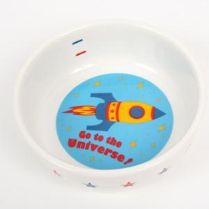フェレット 食器 (PP) フードディッシュ ユニバース(9461)(食器) (フードボウル)  フェレット ペット 食器 フードディッシュ 犬用食器 犬用皿 ペット用皿|ferretwd