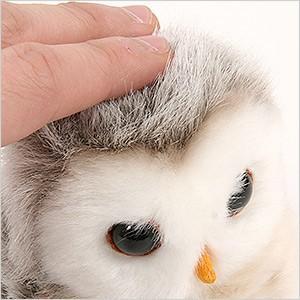 フクロウ ぬいぐるみ(180512) ふくろう フクロウ 梟 雑貨 ぬいぐるみ 動物 人形 マスコット 置物|ferretwd|03