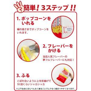 送料無料 ポップコーン 新商品 夢フル対応 シャカシャカポップコーン袋 1000枚1ケース 袋|fescogroup|03
