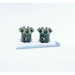 ポップコーン アルミ製ポップコーンポッパー交換用ギア Whirley Pop|fescogroup