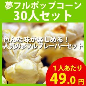 ポップコーン 夢フルポップコーン 30人セット ポップコーン豆 フレーバー オイル 材料セット|fescogroup