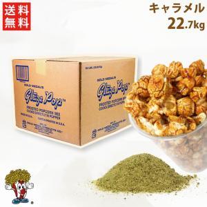 ポップコーン キャラメルフレーバー 22.7kg 老舗 GOLD MEDAL フレーバー シュガー|fescogroup