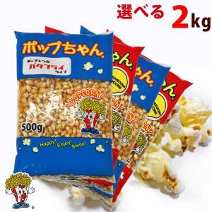 ポップコーン豆2kg バタフライorマッシュルーム (500g×4)|fescogroup
