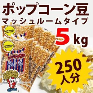 ポップコーン ポップコーン豆 マッシュルームタイプ 5kg 500g×10袋 約250人分 種|fescogroup
