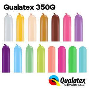 Qualatex Balloon 350Qファッションカラー 単色 約100入 全11色 風船 マジックバルーン ペンシルバルーン イベント クオラテックス バルーン|festival-plaza