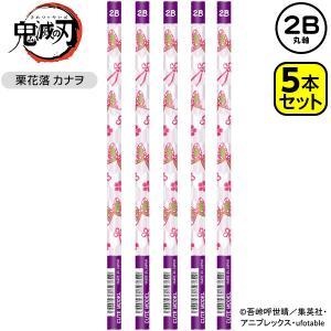 鬼滅の刃 鉛筆 2B 栗花落カナヲ 5本入|フェスティバルプラザ