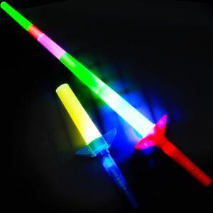 光るおもちゃ スライドライト剣 バラ売 不良返品不可 206 18E21 子供会 景品 お祭り くじ引き 縁日 光るおもちゃ 光り物玩具 不良返品不可