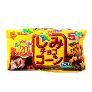 ギンビス しみチョココーン 6パック入 チョコレート 駄菓子 子供会 景品 お祭り 縁日 festival-plaza