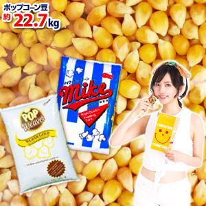 業務用 約22.7kg 高級ポップコーン豆 バタフライタイプ [SAG][omkAA-00005omk] ポップコーン ポップコーン豆 調味料 festival-plaza