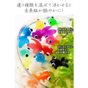 ぷにぷにすくいでめきんBIG尾ビレ 約50入 お祭り 縁日すくい スーパーボール すくい 233 17F01|festival-plaza|04